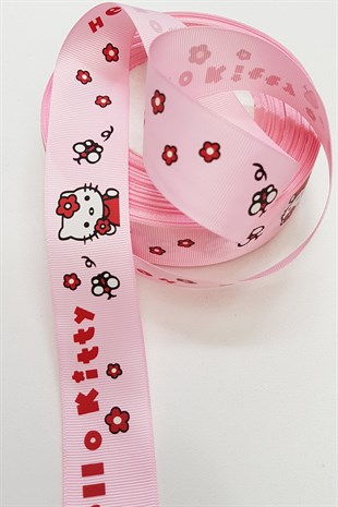 HELLO KITTY BASKILI KURDELE 3 cm